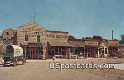 Front Street Replica - Dodge City, Kansas KS Postcard