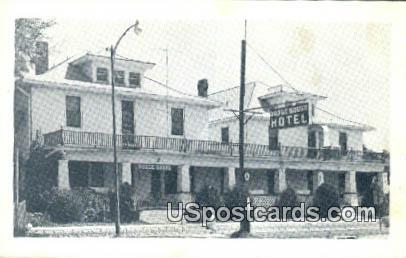 Dodge House Hotel - Dodge City, Kansas KS Postcard