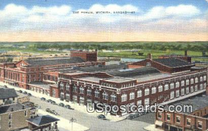 The Forum - Wichita, Kansas KS Postcard