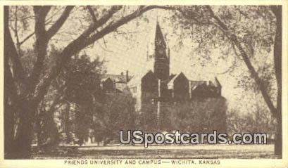 Friends University & Campus - Wichita, Kansas KS Postcard