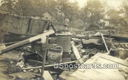 Real Photo - Disaster - Emporia, Kansas KS Postcard
