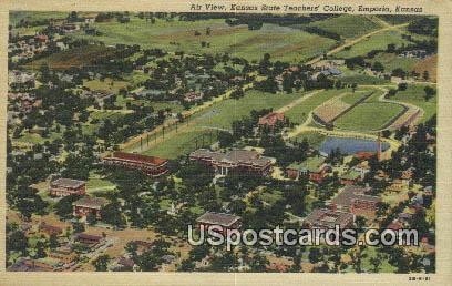 Kansas State Teachers College - Emporia Postcard