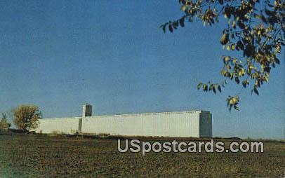 Farmers Co-Op Elevator - Hutchinson, Kansas KS Postcard