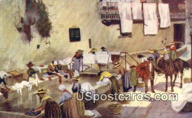 Advertising Model Steam Laundry 1913 - Hutchinson, Kansas KS Postcard