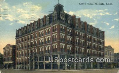 Easton Hotel - Wichita, Kansas KS Postcard