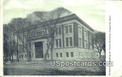 Science Building, State Normal - Emporia, Kansas KS Postcard