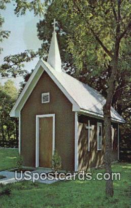 Memorial Chapel - Coffeyville, Kansas KS Postcard