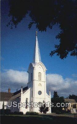 Bethany Lutheran Church - Lindsborg, Kansas KS Postcard