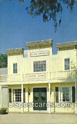 Blood Orchard Country Store - Wichita, Kansas KS Postcard