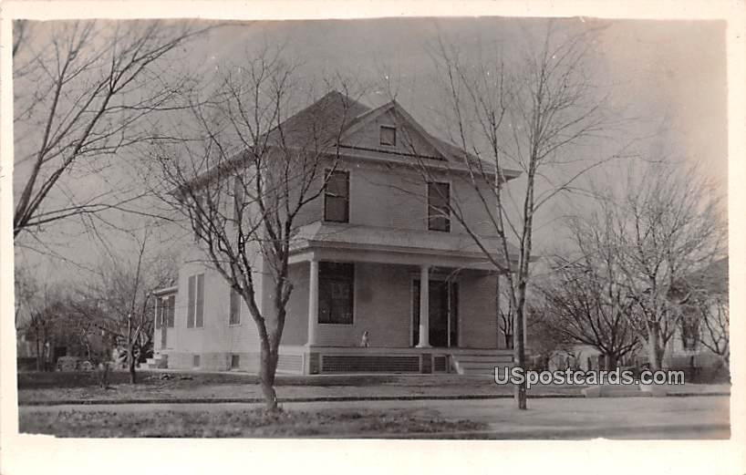 Building with Columns - Salina, Kansas KS Postcard