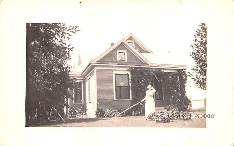 Residence - Salina, Kansas KS Postcard