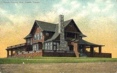 Country Club - Topeka, Kansas KS Postcard
