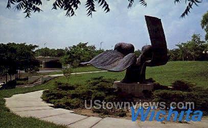 A. Price Woodward Jr. Park - Wichita, Kansas KS Postcard