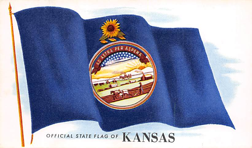 Kansas Flag KS