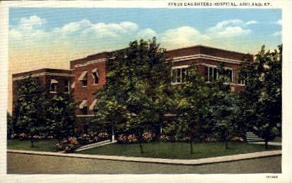 Kings Daughters Hospital - Ashland, Kentucky KY Postcard