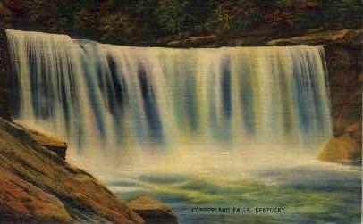 Cumberland Falls - Corbin, Kentucky KY Postcard