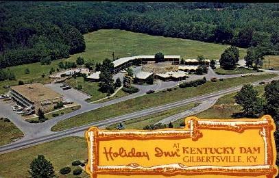Holiday Inn - Gilbertsville, Kentucky KY Postcard