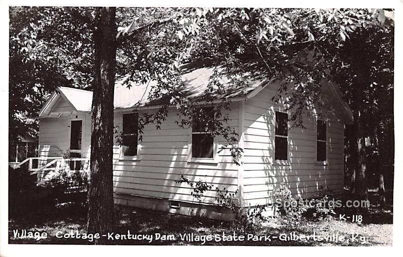 Village Cottage, Kentucky Dam Village State Park - Gilbertsville Postcard