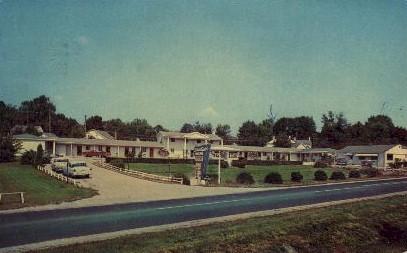 Starlight Motor Court - Lexington, Kentucky KY Postcard