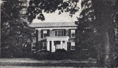 Historical Sketch - Lexington, Kentucky KY Postcard