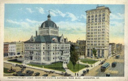 Fayette National Bank BLDG. - Lexington, Kentucky KY Postcard