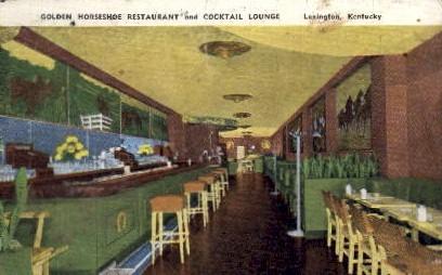 Golden Horseshoe Restaurant  - Lexington, Kentucky KY Postcard