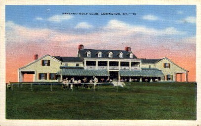 Ashland Golf Club - Lexington, Kentucky KY Postcard