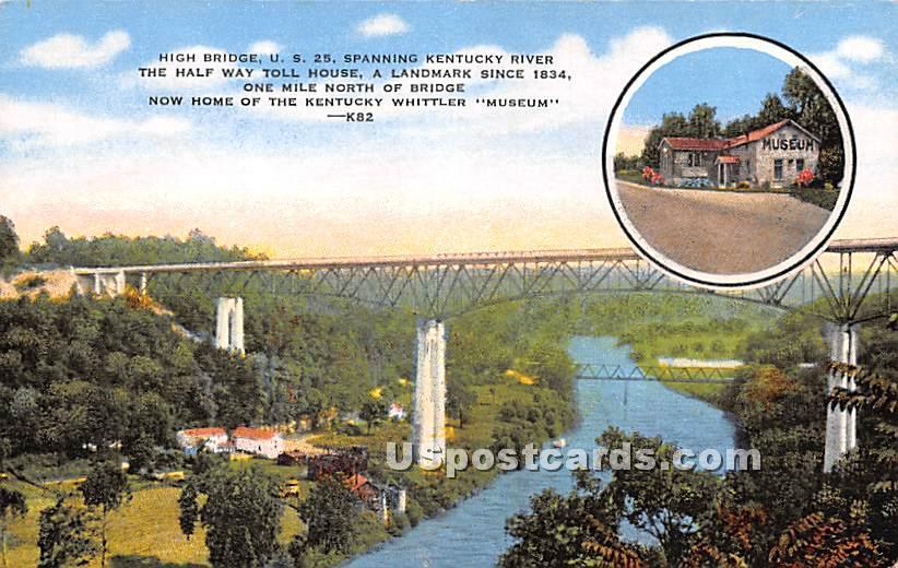 The KY Whittler Museum - Lexington, Kentucky KY Postcard