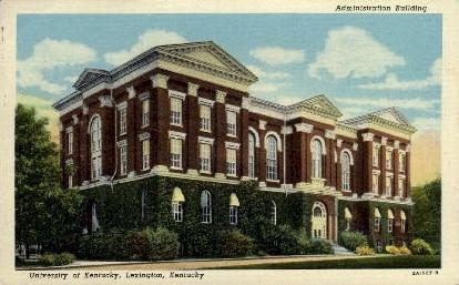 University of KY - Lexington, Kentucky KY Postcard