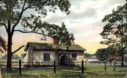 Oldest House in Lexington - Kentucky KY Postcard