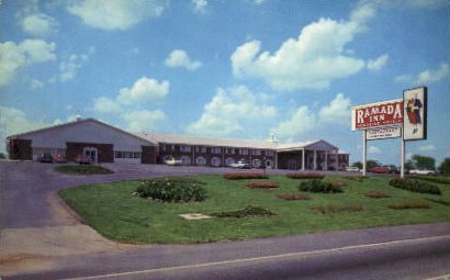 The Ramada Inn - Lexington, Kentucky KY Postcard