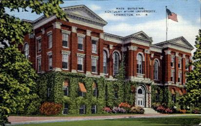 Main Building - Lexington, Kentucky KY Postcard