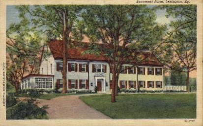 Beaumont Farm - Lexington, Kentucky KY Postcard