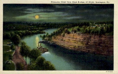 KY River - Lexington, Kentucky KY Postcard