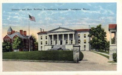 Transylvania University - Lexington, Kentucky KY Postcard