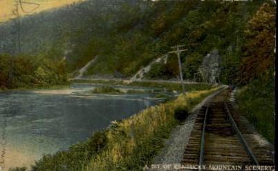 KY Mountain Scenery - Lexington, Kentucky KY Postcard
