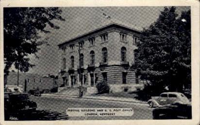 Federal Building, U.S. Post Office - Lexington, Kentucky KY Postcard