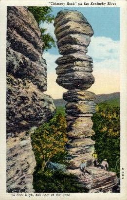 Chimney Rock - Lexington, Kentucky KY Postcard
