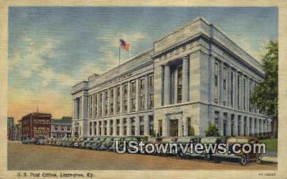 Us Post Office - Lexington, Kentucky KY Postcard