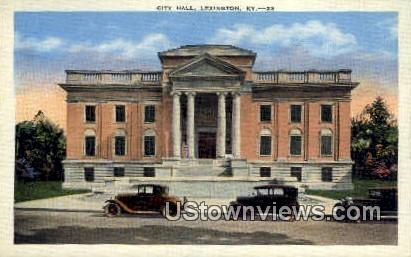 City Hall - Lexington, Kentucky KY Postcard