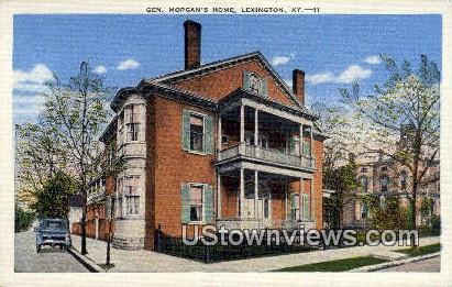 Morgan's Home - Lexington, Kentucky KY Postcard