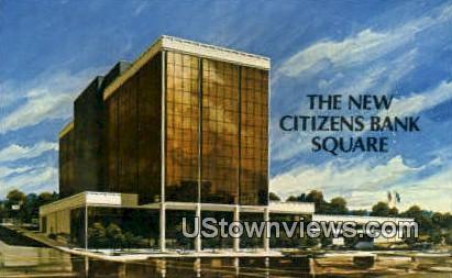 Citizens Bank - Lexington, Kentucky KY Postcard