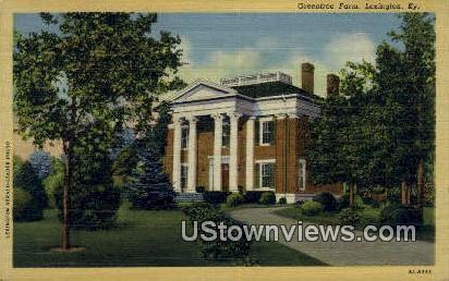 Green Tree Farm - Lexington, Kentucky KY Postcard