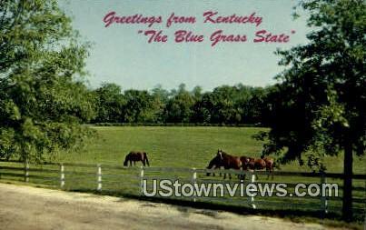 Greetings From - Lexington, Kentucky KY Postcard