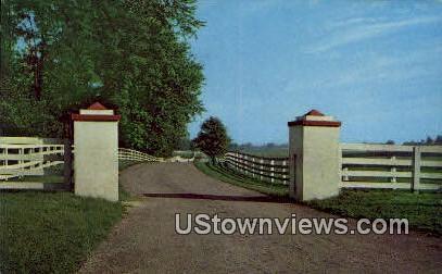 Calumet Farm - Lexington, Kentucky KY Postcard