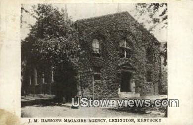 Jm Hansons Magazine Agency - Lexington, Kentucky KY Postcard