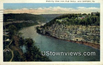 Kentucky River - Lexington Postcard