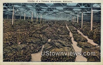 Tobacco Warehouse - Lexington, Kentucky KY Postcard