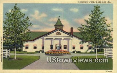 Elmhurst Farm - Lexington, Kentucky KY Postcard