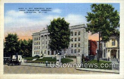 Mary A Ott Memorial Building - Lexington, Kentucky KY Postcard